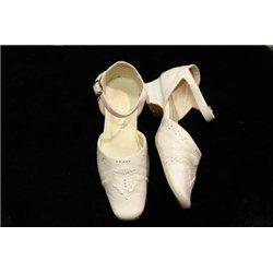 Pantofi pentru fetițe albi 26 1211