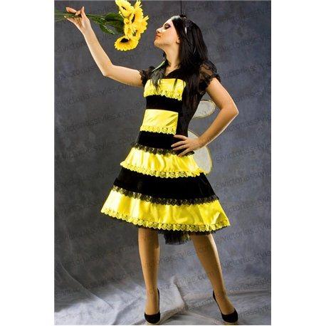 Взрослый Карнавальный Костюм Пчела 3352