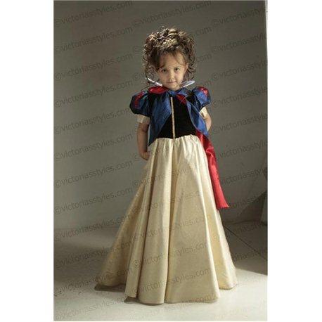 Детский карнавальный костюм Белоснежка 2096