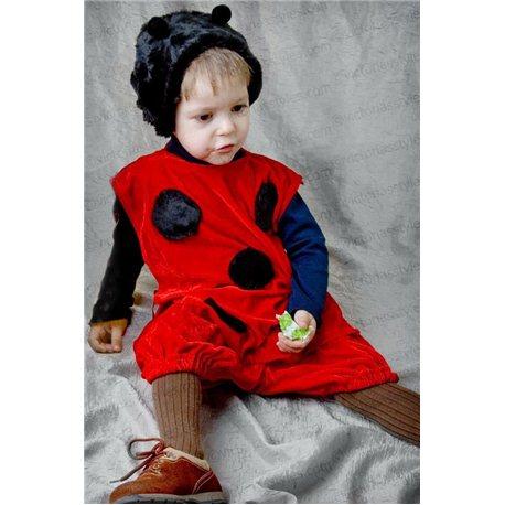 Детский карнавальный костюм Божья коровка 2158