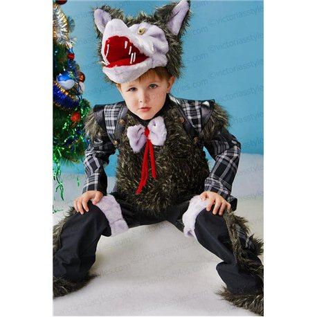Детский карнавальный костюм Волк 0080