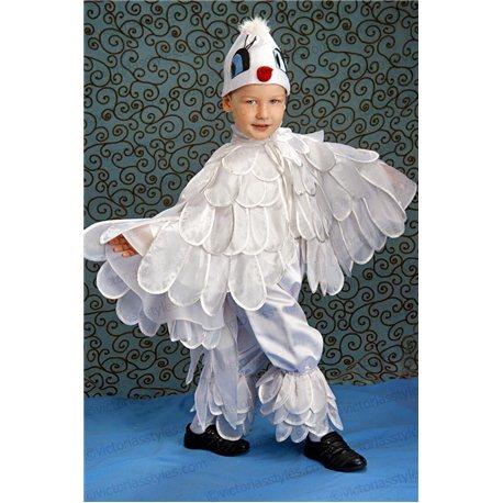 Детский карнавальный костюм Голубь 1944