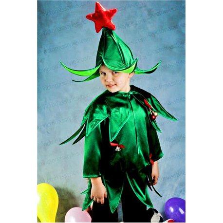 Карнавальный костюм Ёлочка для мальчика 3104
