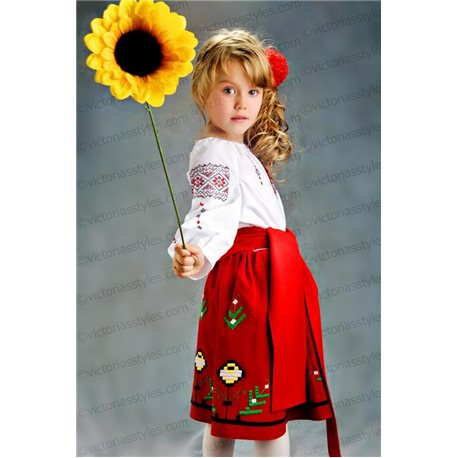 Costum de Carnaval pentru copii Costum național moldovenesc 2787