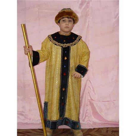 Costum de carnaval pentru copii Țar, Rege 0107