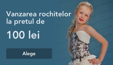 Vanzarea rochitelor de gala pentru fetite doar cu 100 lei (MDL)