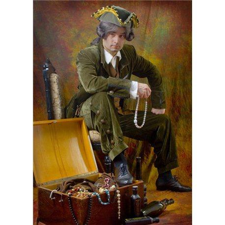 Costum de Carnaval pentru aduți Pirat 2458, 2113