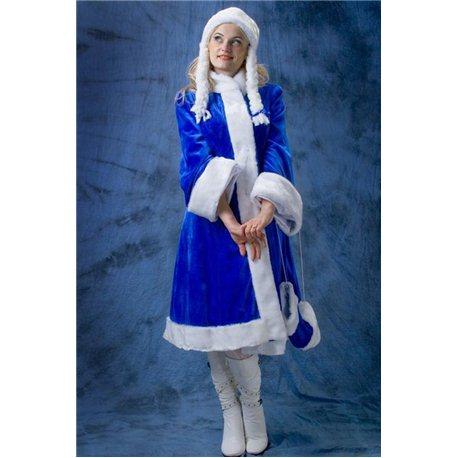 Взрослый, Карнавальный костюм Снегурочка 2599