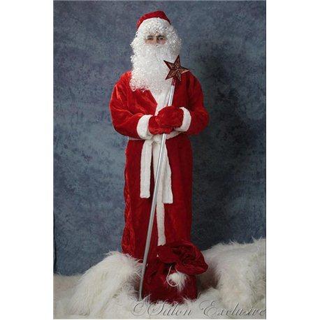 Взрослый, Карнавальный костюм Дед Мороз 4185, 0128, 3453, 3458, 2028