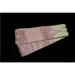 Manusi pentru fetite roz pal 0235