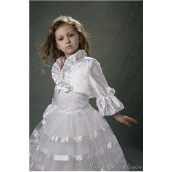 Bolero albpentru fetițe 3792