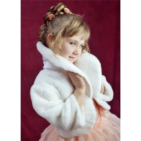 Blană albă pentru copii M 1734