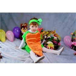 Детский карнавальный костюм Морковка 2557, 2558