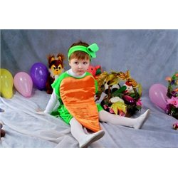 Costum de Carnaval pentru copii Morcov 2557, 2558