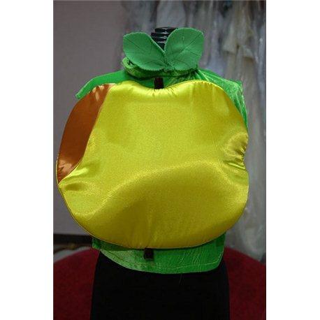Детский маскарадный костюм Яблоко 2547