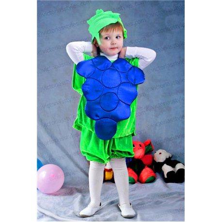Costum de Carnaval pentru copii Struguri 2549