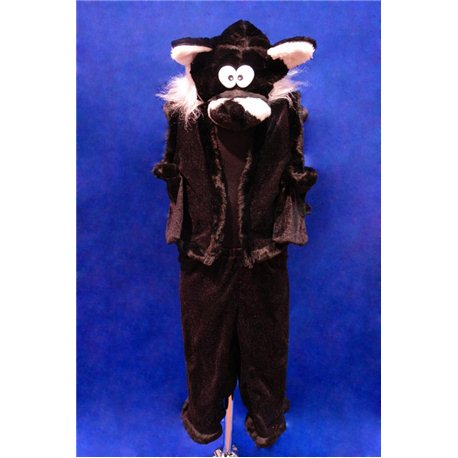Кот черный 4160