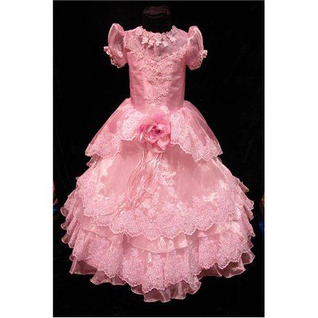 Rochiță elegantă pentru fetițe 0827