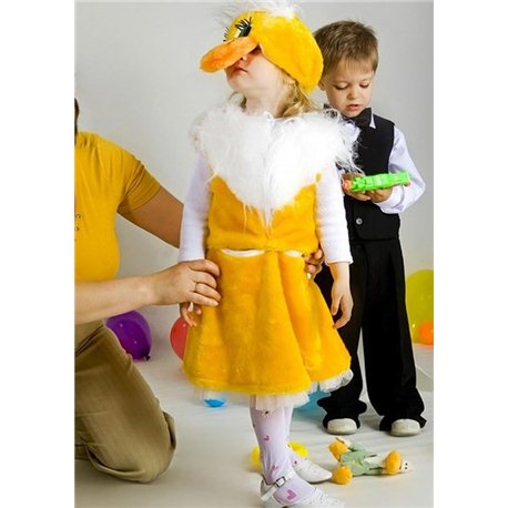 Детский карнавальный и маскарадный костюм Уточки 2605, 2889