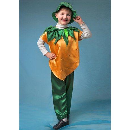 Карнавальный костюм Морковка 2459