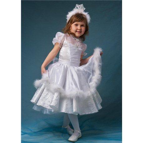 Карнавальное платье Снежинка 0039 , 0040 , 0041 , 0042 , 4750 , 0044 , 0045