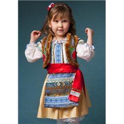 Молдавский Национальный костюм для девочки 0081, 0082