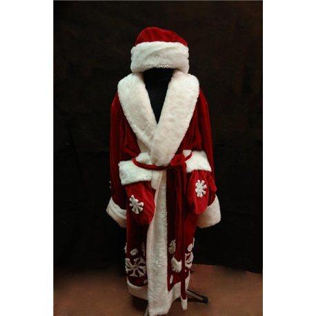 Карнавальный костюм Деда Мороза 3842
