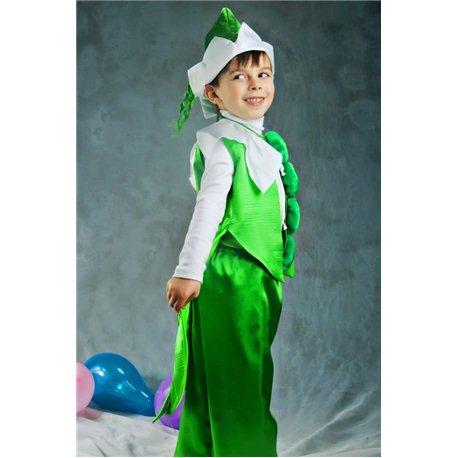 Детский карнавальный костюм Горошек, Кузнечик 2493, 2473, 2977, 2976