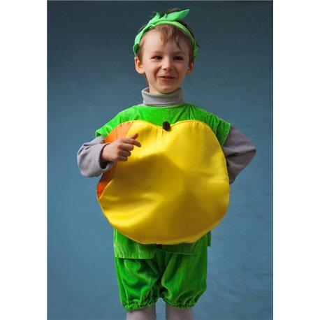 Costum de Carnaval pentru copii Măr 2548