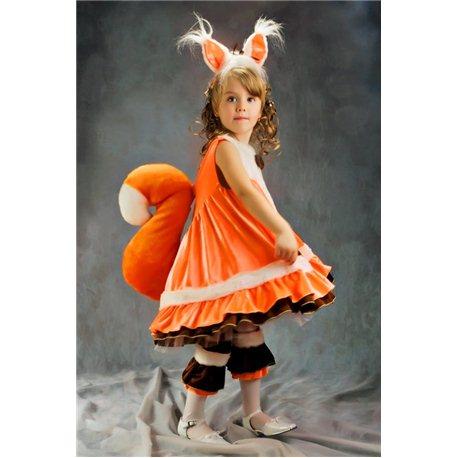 Costum de Carnaval pentru copii veverita 2967, 4524