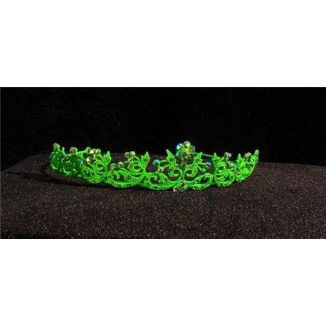 Diademă verde pentru fetițe 3772
