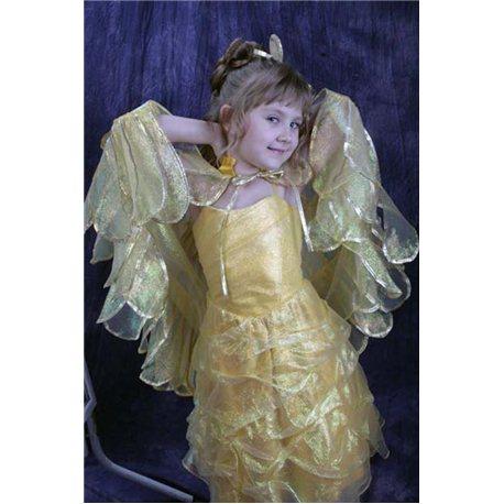 Rochiță pentru fetițe galbenă 1724
