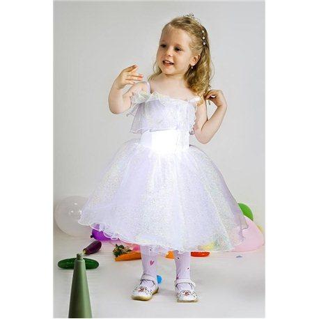 Детский карнавальный и маскарадный костюм Снежинка хамелеон 2620, 2619, 2622, 2621, 2623, 2624, 2625