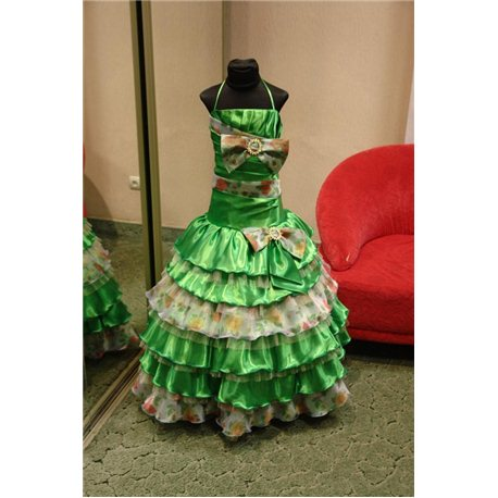 Rochiță elegantă pentru fetițe Primăvara 4484