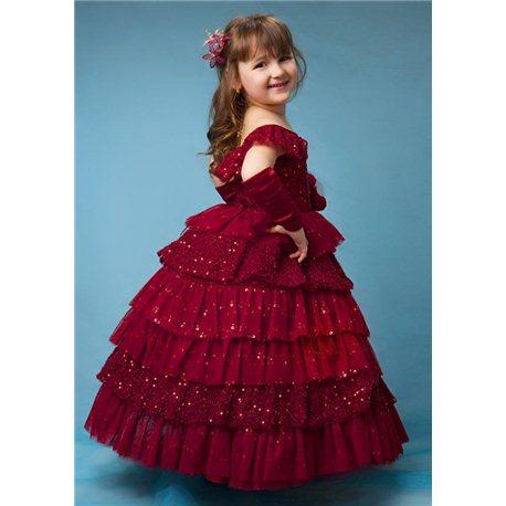 Rochiță elegantă pentru fetițe 4519