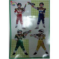 Costum de Carnaval pentru copii Power Ranger 3363, 3361, 3207, 3362, 3365, 3364, 3367