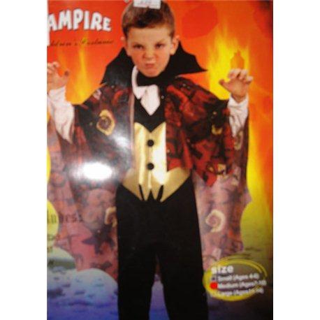 Вампир (плащ, жилетка, бантик) 3593, 3594