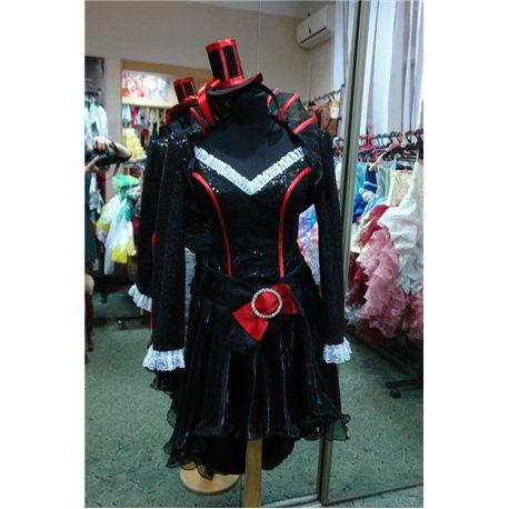 Взрослый карнавальный костюм Мулен Руж, Вампирша sexy 2311
