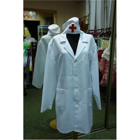 Взрослый карнавальный костюм Доктор 2735