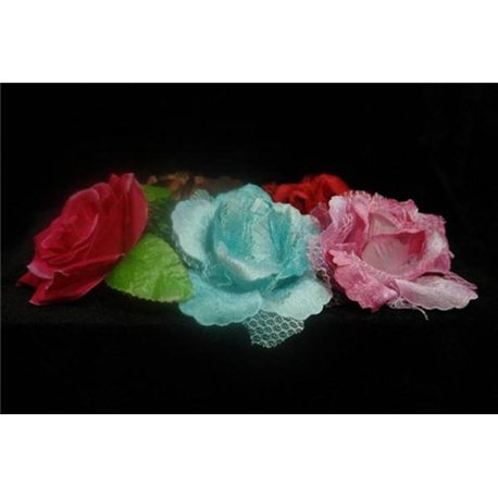 Цветы (красные, желтые, розовые, бирюзовые, коричневые) 3805
