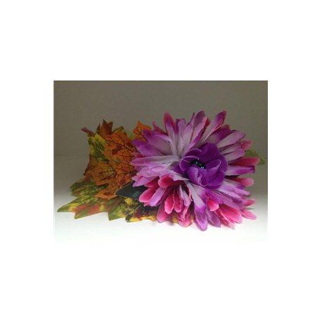 Обруч Осень (сиреневый цветок) 3867