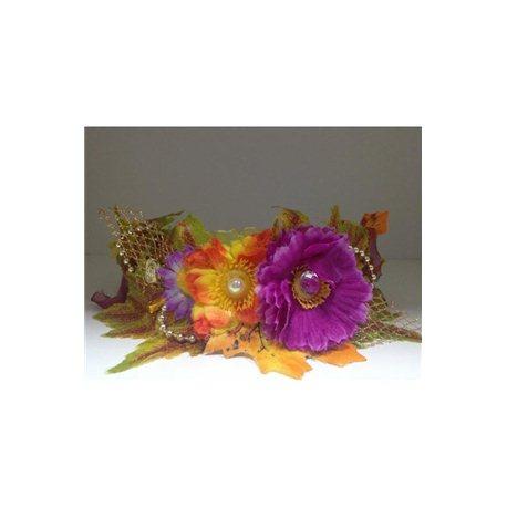 Обруч Осень (3 цветка) 3868