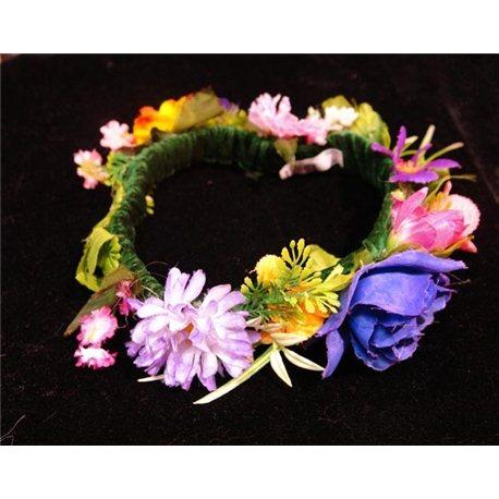 Веночек Весна на резинке 4369