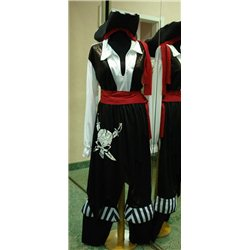 Взрослый карнавальный костюм Пират- капитан S 4677,4678