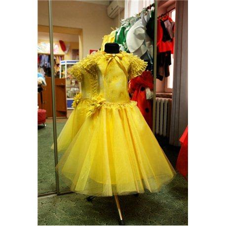 Детское нарядное платье Rosita, Осень, солнышко, кувшинка 6 1444