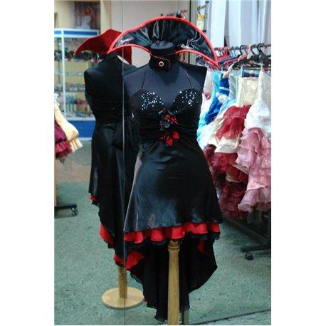 Взрослый карнавальный костюм Вампирша sexy 2849
