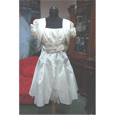 Вечернее платье бежевое p,42 3343