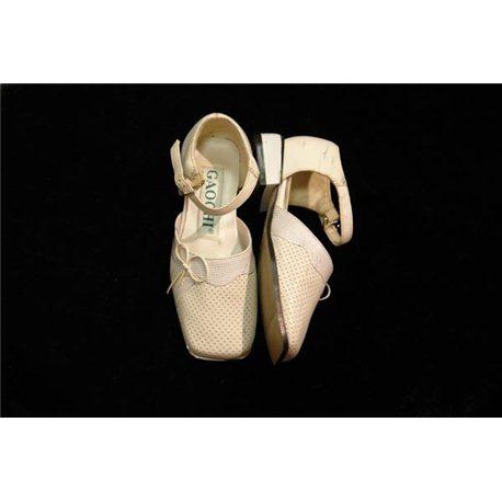 Обувь детская нарядная для девочек белая р.27 1718