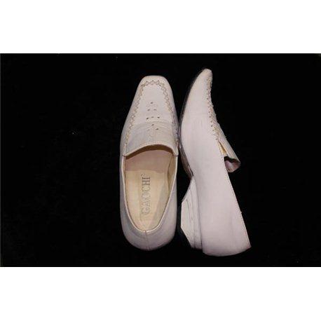 Обувь детская нарядная для девочек белая р.35 0430