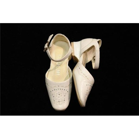Обувь детская нарядная для девочек белая р.28 1905